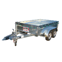 Road trailer, 2 axles - GVWR 2000 KG