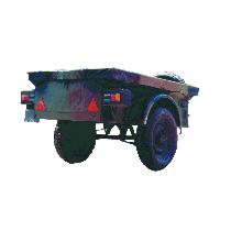 Tarpaulin for jeep trailer (Used)