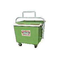Quartering tray in polyester 600 L