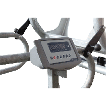 Weighing system for cattle chute
