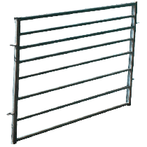 Barrier for sheep pen 1,25 x 1m (for working chute)