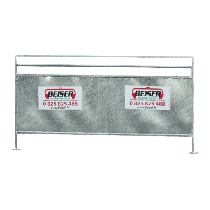 Sheeting-covered panel for sheep 1.50 m x 0.90 m
