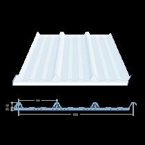 Polycarbonate double layer translucent sheet, 6.1 m