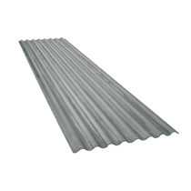 Corrugated sheet 15 waves, galvanised, thickness 0.60, 6.5 m