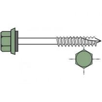 Long self-drilling screw for wooden framework (per 100), 6.5x150, galvanised