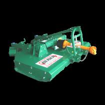 Rotary crusher - 2 rotors - 8 cutters - width 2.40 m