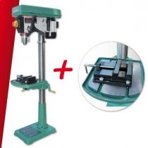 """Kit Perceuse sur colonne 380V - 1000W (DP43020F) + Etau 5"""" pour Perceuse d'établi 380V -1000W(DP43020F)"""
