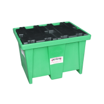 HDPE retention tray, 1 section - 208 litres (in polyethylene)