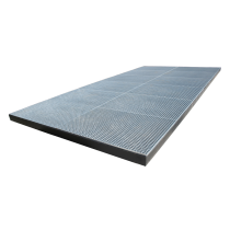 Retention tray sprayer tray 1260L (Galvanised - extra flat - large dimensions)