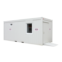 Sanitary cabin model no.3 with disabled access