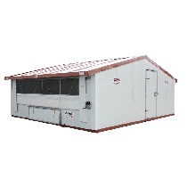 Mobile building for poultry breeding - In kit form- 30m²