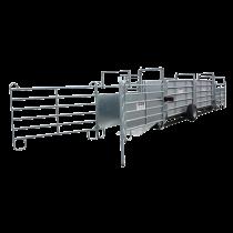 Kit de barrière pour double pédiluve automatique sur roues (Nouvelle génération)