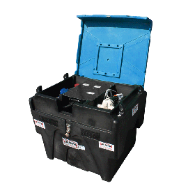 B-BLUE Transport Pack with reel and pump 12V