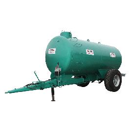 10000L tank on SKIPPER frame, spring-mounted drawbar, EPOXY coating
