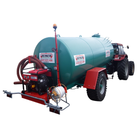 10000L fire water tank with wheels