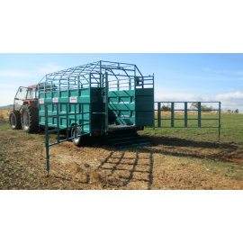 Barriers for cattle truck R 450