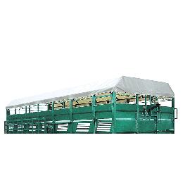 Tarpaulin for cattle truck, 3.70 m