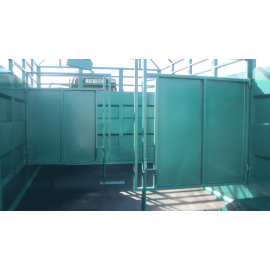 INNER partition for cattle truck, 4.5 m