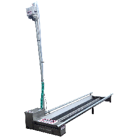 Automatic hoof bath (left side pump)