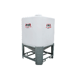 Cubical polyester silo 3 m3 in kit form