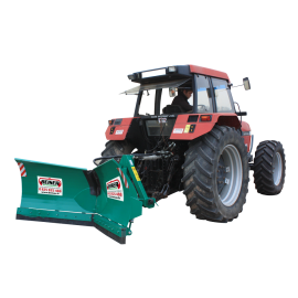 Articulated snow plough 2.50 m - Double jack, 3-point