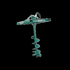 Hydraulic auger/pallet loader