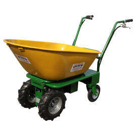 Wheelbarrow with electric motor (comfort model)