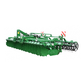 Disc stubble cultivator 3 m (With V-Ring roller)