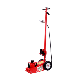 Hydropneumatic jack 22 T on wheels