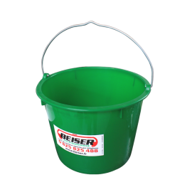 20-litre bucket in PVC without cover
