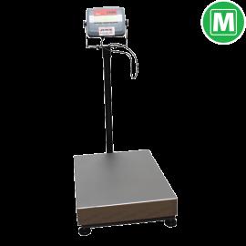 Plateform scales - 150 kg (Legal Metrology)