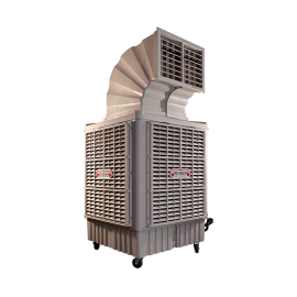 Rafraîchisseur d'air mobile 23000m3/h avec cheminée