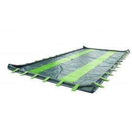 Flexible retention tray 9000 liters
