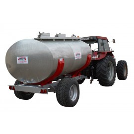 14000L stainless steel tank with agrarian frame Boogie