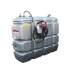 "Odourless HDPE double wall fuel station, 2000 L ""Confort"""