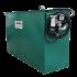 Beiser Environnement - Station citerne fuel acier simple paroi 2000 litres avec bac de rétention et pompe 60 litres/min