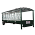 Beiser Environnement - Double auge avec barrières cornadis sur roues - Profil
