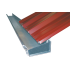 Galvanised drainage channel 205mm, 6m