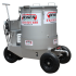 Stainless steel mixer/dispenser trolley (300L)