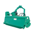 Rear crusher with lateral movement, width 1.80m