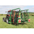 Mixed pasture harrow 8 m with seeder