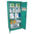 Complete tall green safety cabinet no. 1, 1950 x 930 x 500 mm