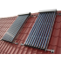 Tubular solar water heater with three 5.13 m² panels