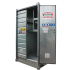 """Safety +"" High, 1-pallet galvanised storage cell (isolated)"