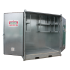 """Safety +"" high 2-pallet galvanised storage cell (Insulated)"