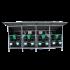 Beiser Environnement- Box à veaux avec toit (quadruple) - Face
