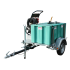 High pressure cleaner pack, 300 L tank on 750 kg road frame