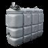 Station fuel double paroi PEHD sans odeur, 2000 litres