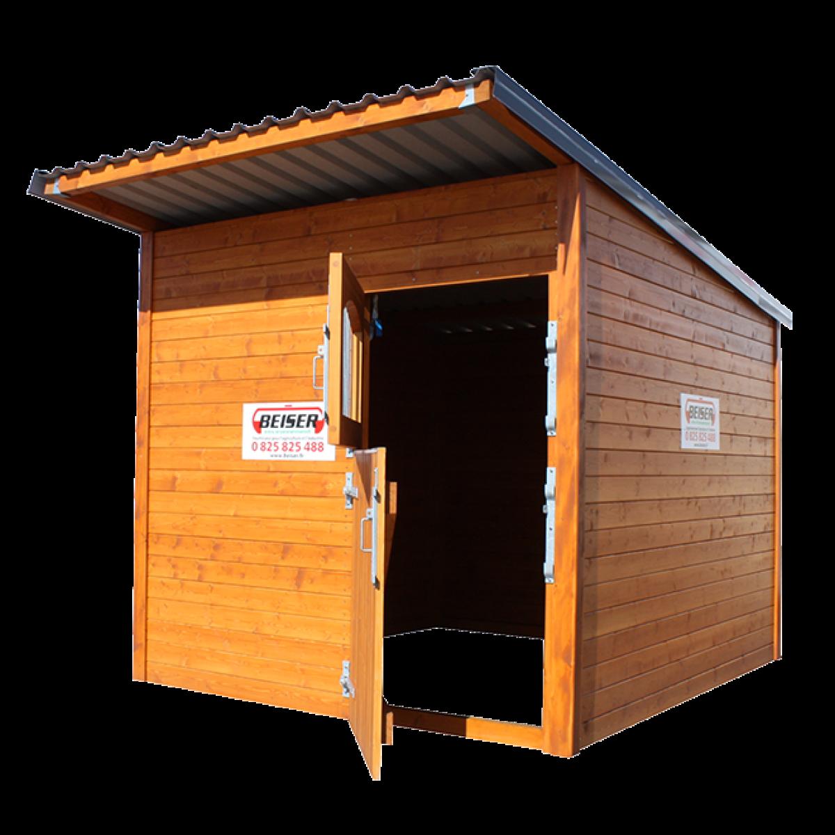 Beiser Environnement Box à Chevaux En Bois Contactez Nous Au