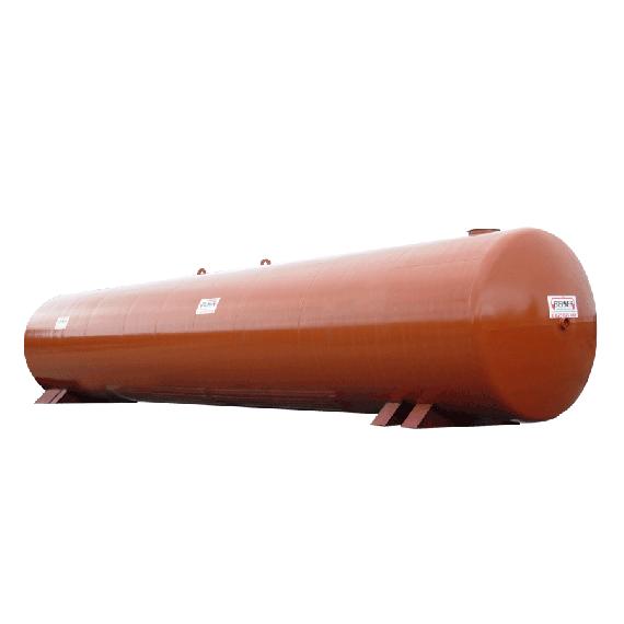 New steel fire water tank, 60000L, Ø3000 mm
